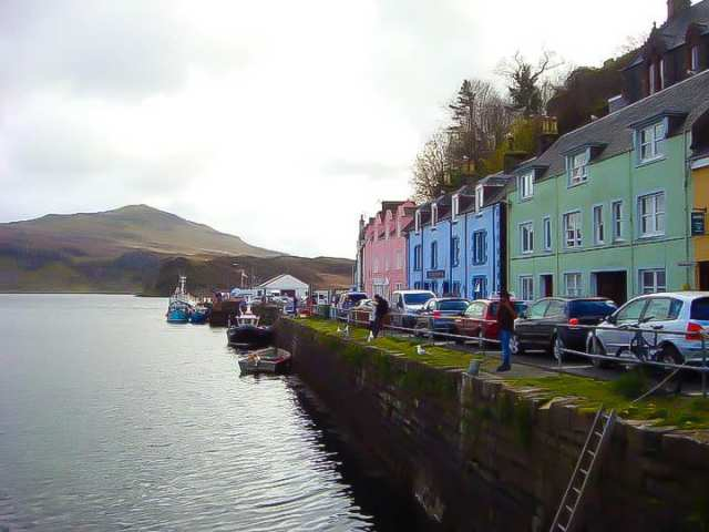 Portree Harbour, Portree, Isle of Skye