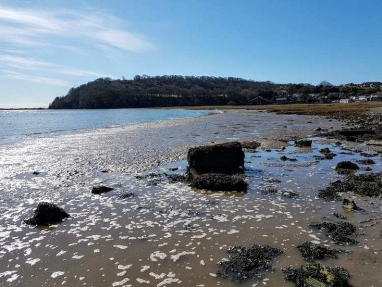 Laugharne, South Wales: Visiting Dylan Thomas and other sights...