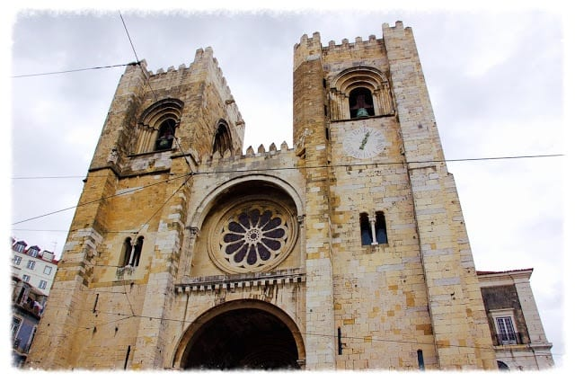 Night Plane to Lisbon: Part 1: Lisbon Cathedral