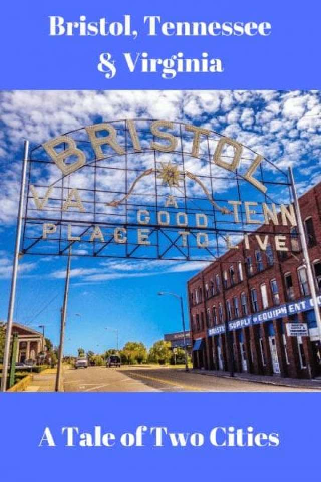 Bristol, Tennessee and Virginia: A Tale of Two Cities