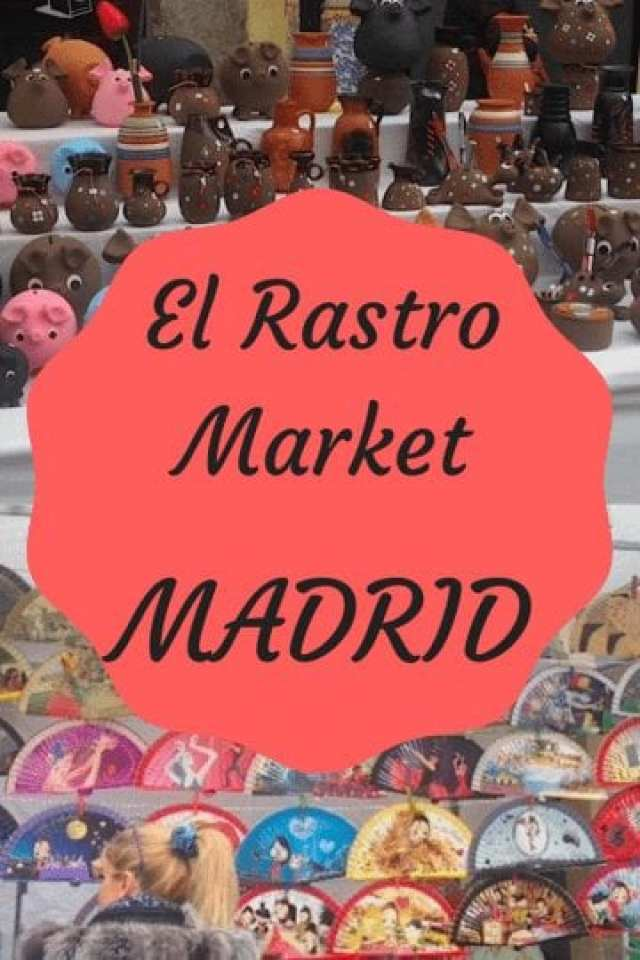 El Rastro Market: Shopping in Madrid