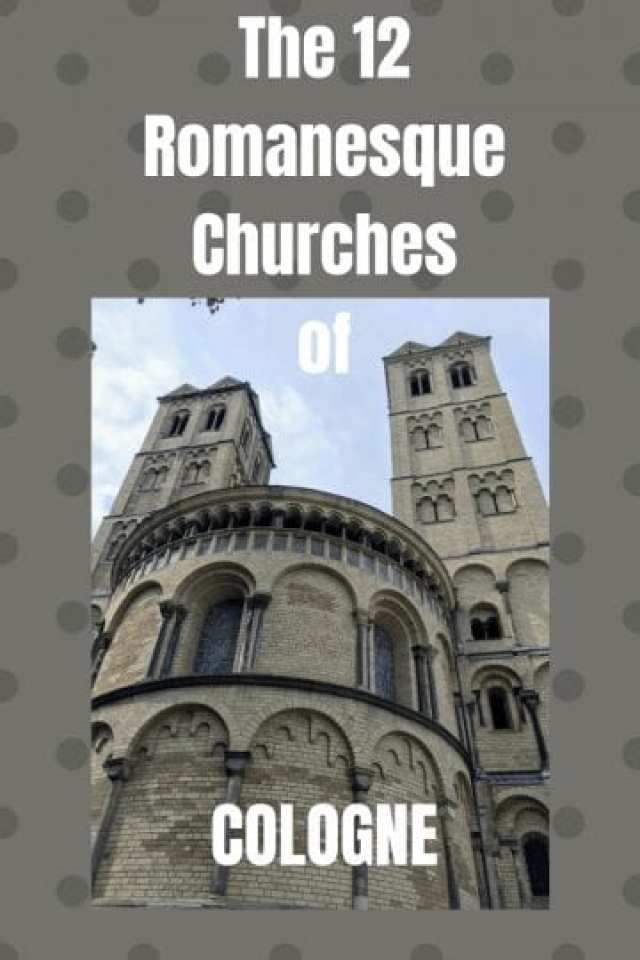 The 12 Romanesque Churches of COLOGNE