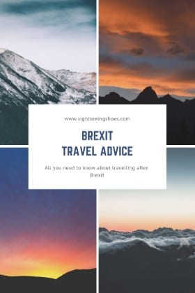 Brexit travel advice