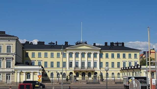 Helsinki An Architectural House - presidential palace