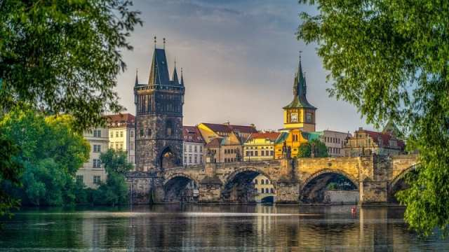 must see european bridges - stag bridge, prague