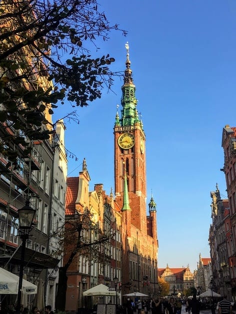Six Top Sights in Gdansk Old Town - Town Hall
