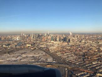 Cold Landing in New York City