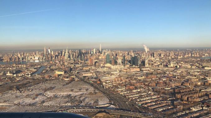Cold Landing in New York City