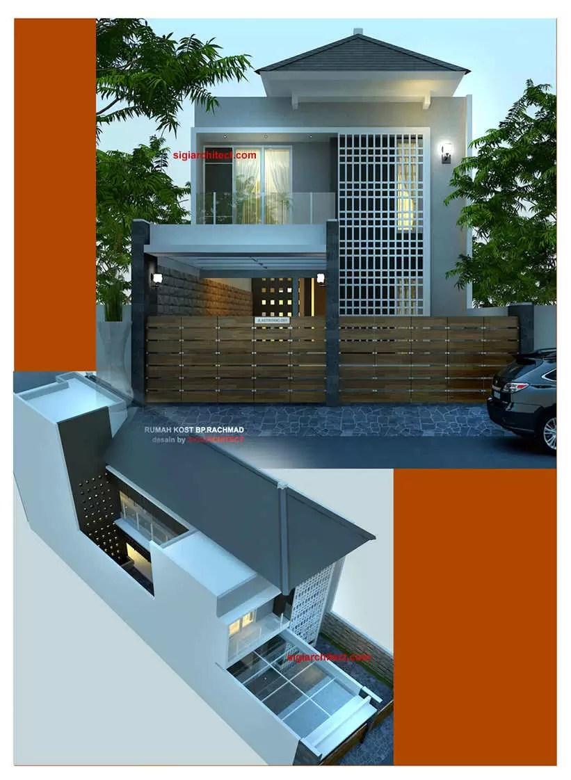 Desain Rumah Kos Kosan Yang Sehat : desain, rumah, kosan, sehat, Gambar, Rumah, Minimalis, Lantai, Desain