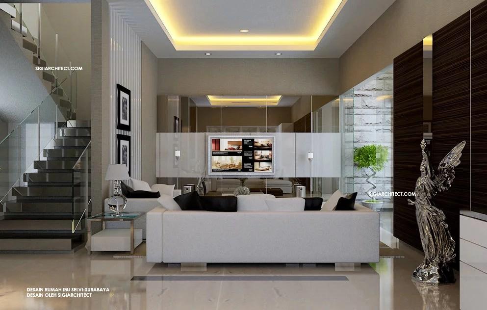 Rumah Minimalis Tropis  Interior