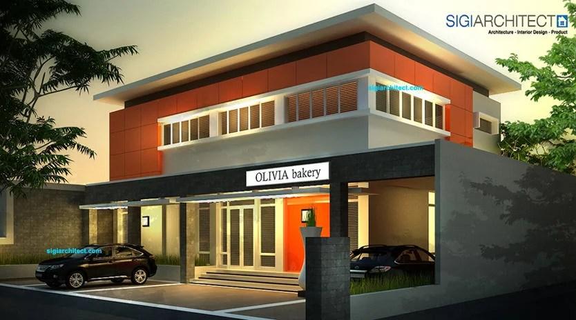 Desain Kantor Modern Minimalis_Pabrik RotiBakery