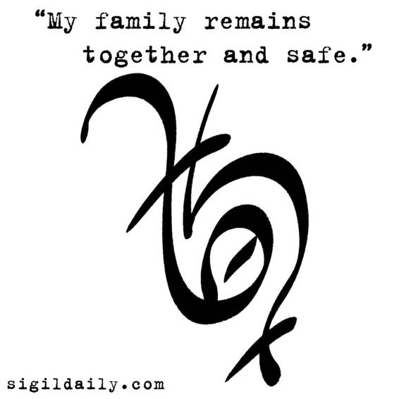 """My family remains together and safe."""