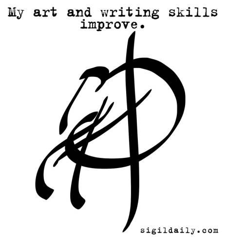 """""""My art and writing skills improve."""""""