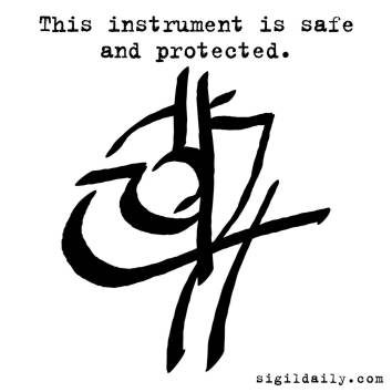 """""""This instrument is safe and protected."""""""