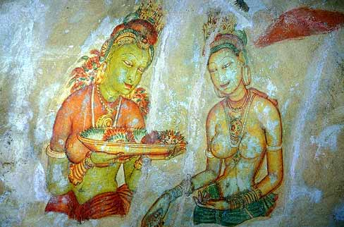 Sigiriya Who are these maidens and what is their message