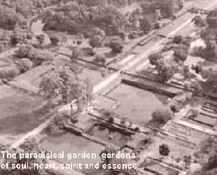 The paradisical garden