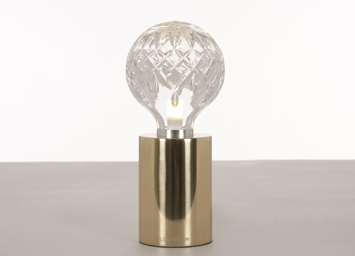 Wall Mounted Lamps With Plug Clear Crystal Bulb Table Lamp | Siglo Moderno
