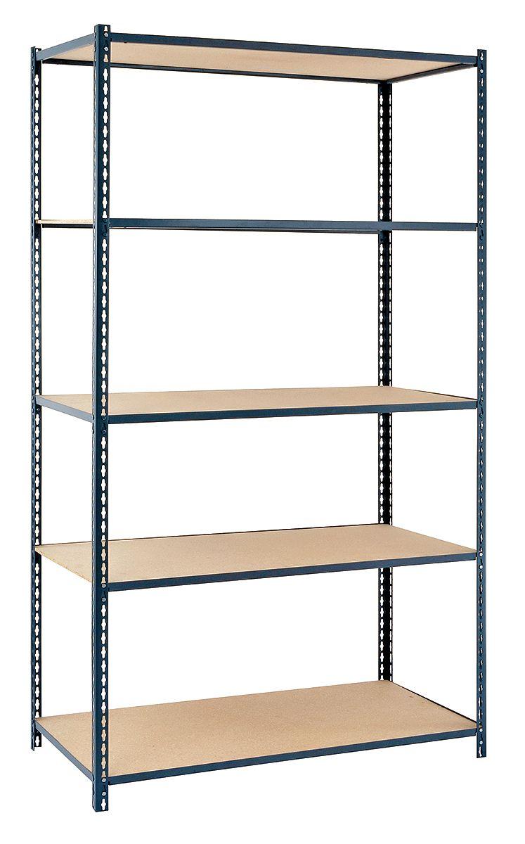 5 Shelves 12d X 36w X 84h Edsal Ebl P3612s Boltless Shelving