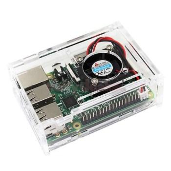 Raspberry Pi 3 Acrylic Enclsure