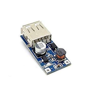 DollaTek Mini PFM Control DC-DC 0.9V-5V to USB 5V DC Boost Step-up Power Supply Module