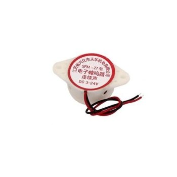 uxcell SFM-27 DC 3-24V 90DB Continuons Beep Alarm Electronic Buzzer Sounder