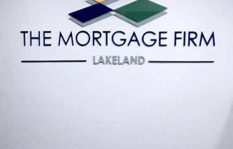 The Mortgage Firm Lakeland FL Custom Letter Sign