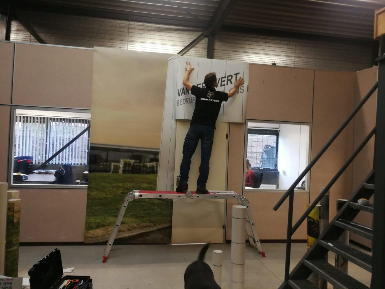 Printerieur bij van der Avert bedrijfskleding - Sign Masters