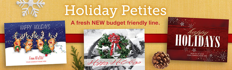 Holiday Petites Banner