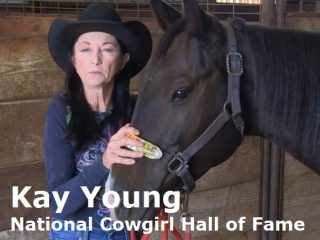 Hall of Fame Barrel Racer Kay Young talks about Equiwinner