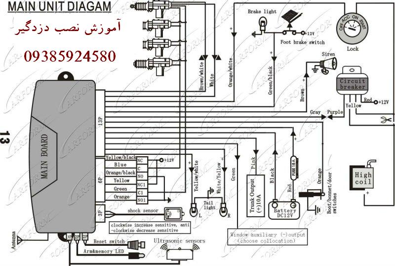 Car alarm system wiring diagram efcaviation com on wire diagram car alarm Automobile Wire Diagram 10 Car Alarm Wire Diagram