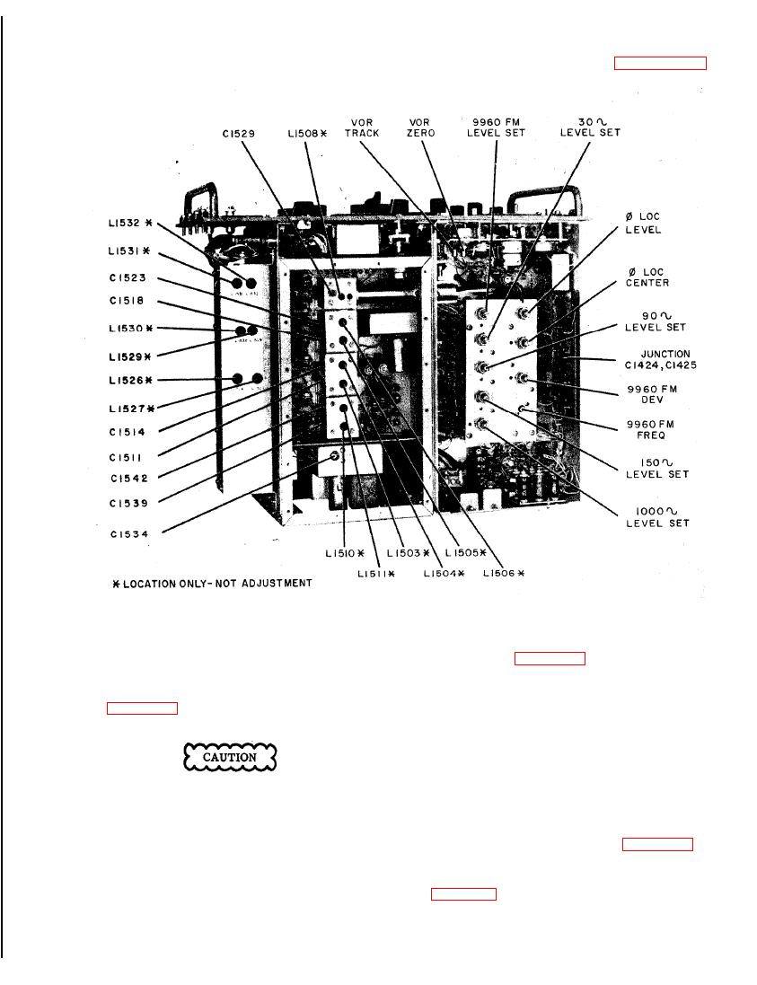 Figure 6-11. Signal Generator SG-13/ARN, Bottom Chassis
