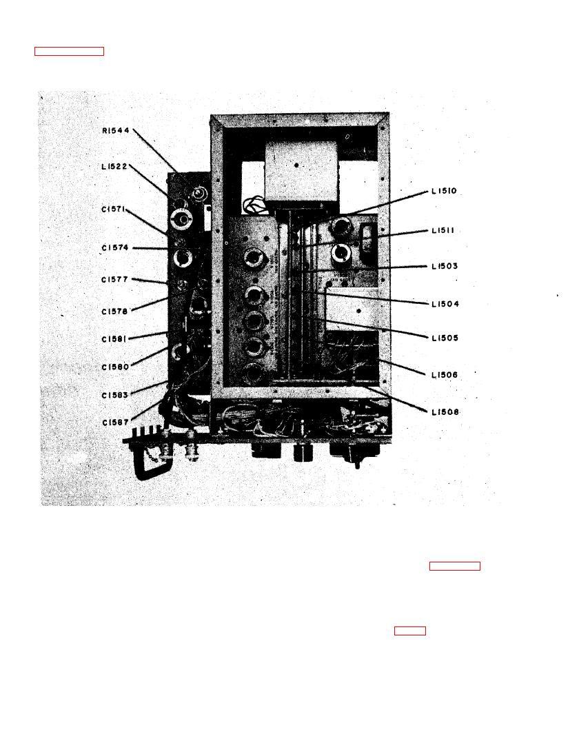 Figure 6-12. Signal Generator SG-13/ARN, Top Chassie