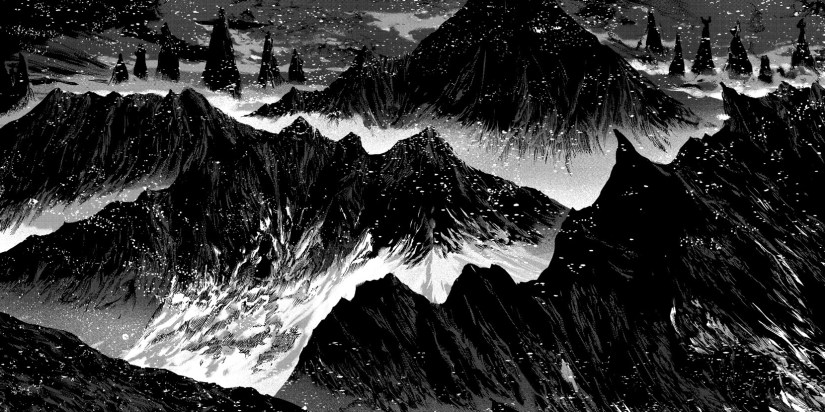At the Mountains of Madness by Gou Tanabe, courtesy Dark Horse