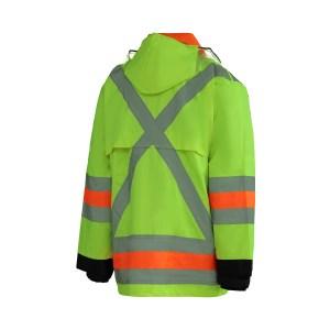 Manteau imperméable du signaleur