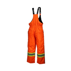 pantalon combinaison du travaillleur orange