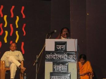Dayamani Barla speaks about the adivasi struggle for land and life.