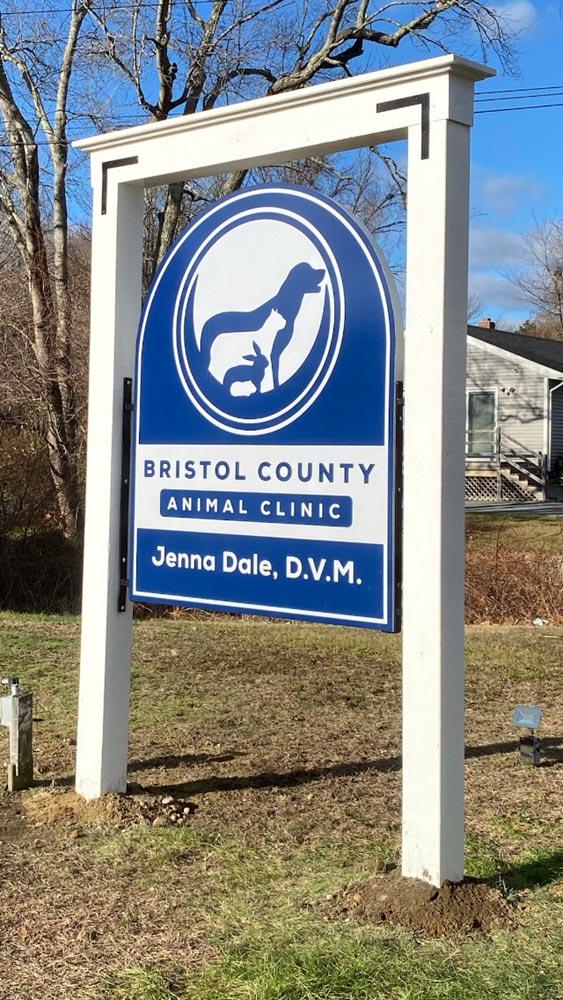 Bristol County Animal Clinic Sign by Signarama Walpole