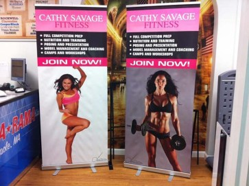 banner stand 2