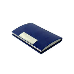 PU Leather Business Card Holder Case