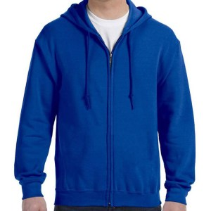 Zip Up Hoodie Without Pocket