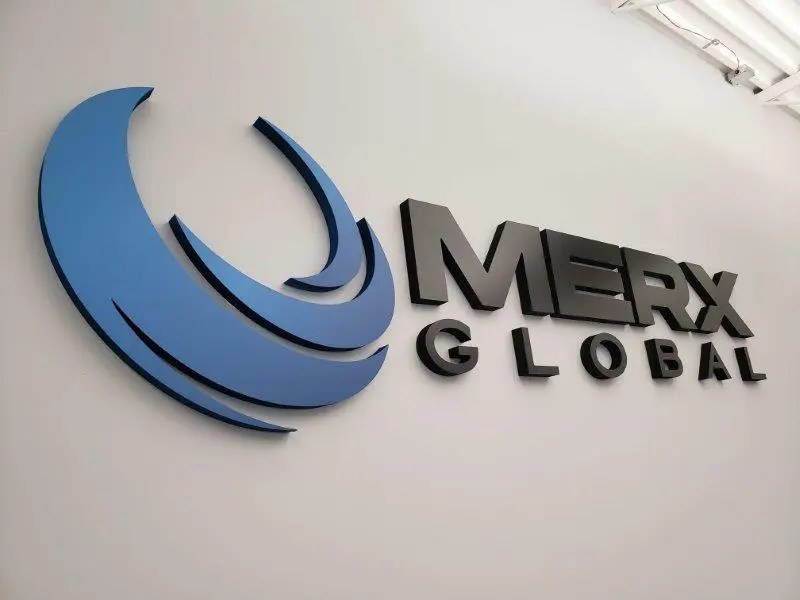 lobby sign merx global