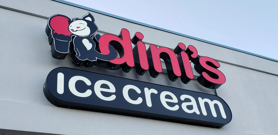 Ice Cream shop font