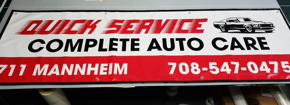 Banner for Quick Service Auto Care