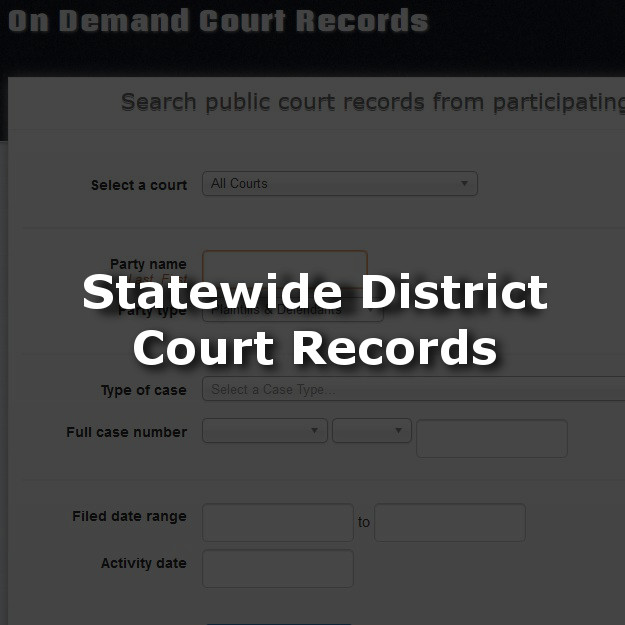 Oklahoma District Court Records