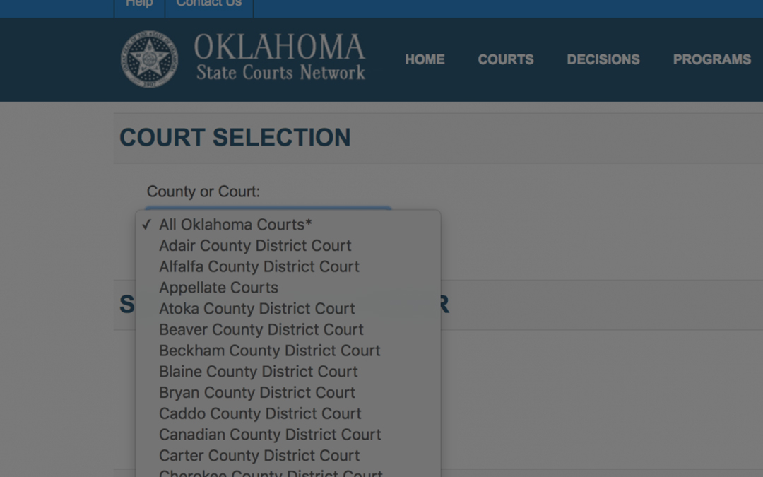 How to Search Tulsa Court Records | Signature Bail Bonds of Tulsa