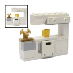 In Stock Kitchen Cabinets Reviews Covered Outdoor Lego Sink, - Mini Sets Signature Bricks