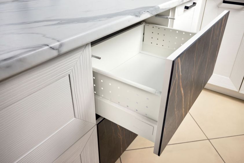 Kitchen Cabinet Door Drawer with Soft Quiet Closer Damper Buffers Cushion, solution to slow down closing action of cupboard, storage, cabinet and drawer protect from slamming, reduce close noise.