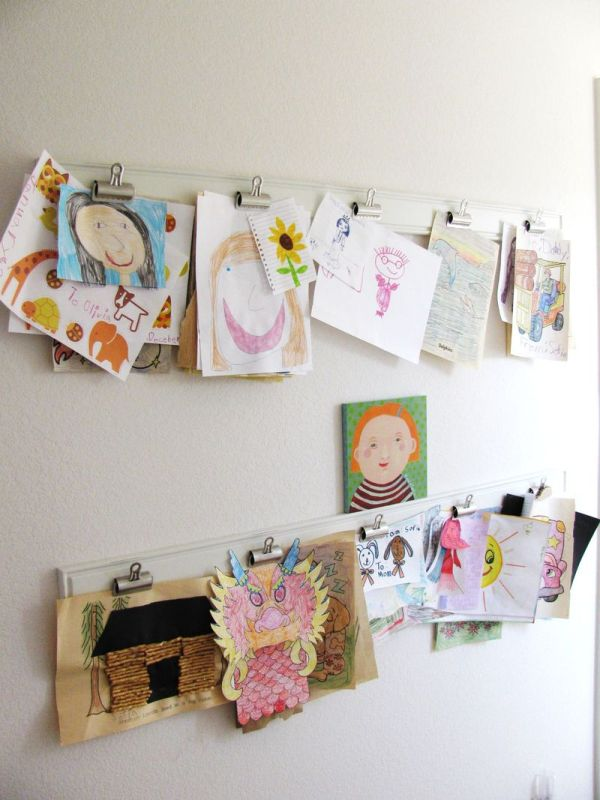 Wall Art Display Ideas for Kids