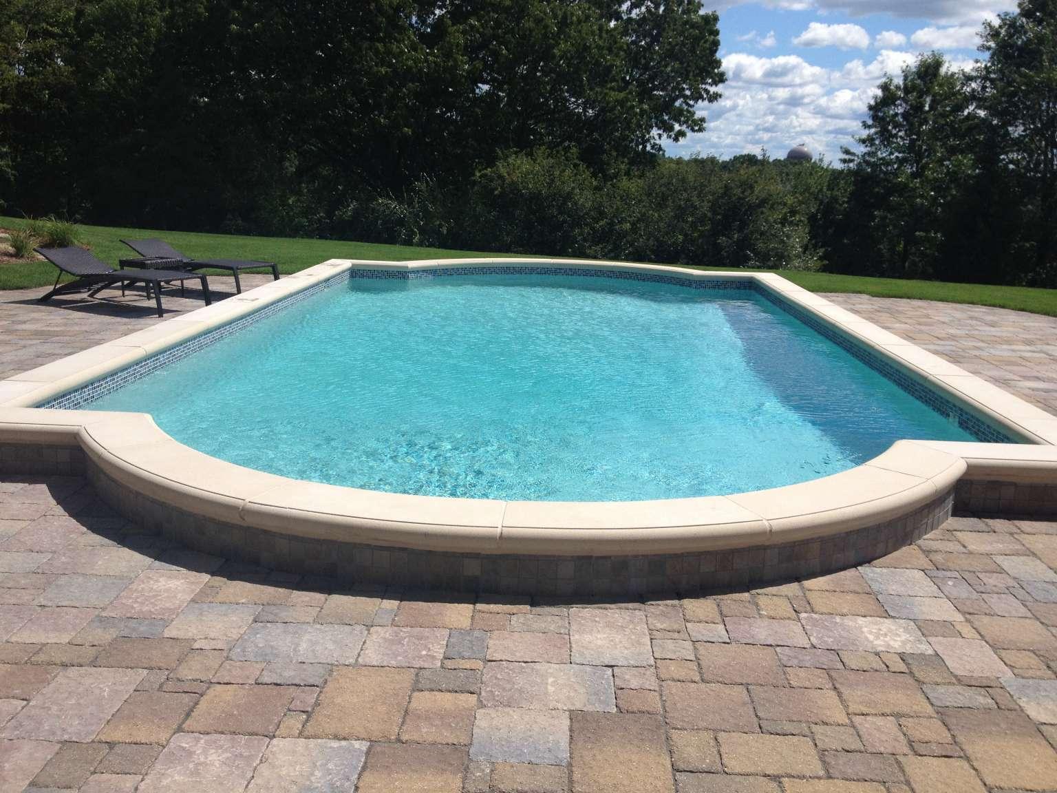 Ada Raised Pool Pergola And Outdoor Kitchen Signature