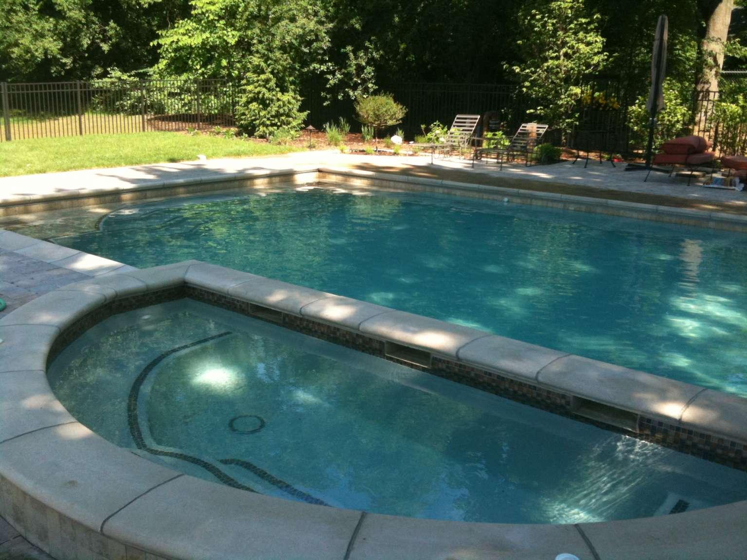 tub and pool